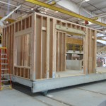 exterior corner of living module